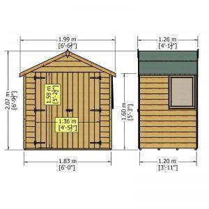 a3322_bute_4x6_d_door_shiplap_sizes